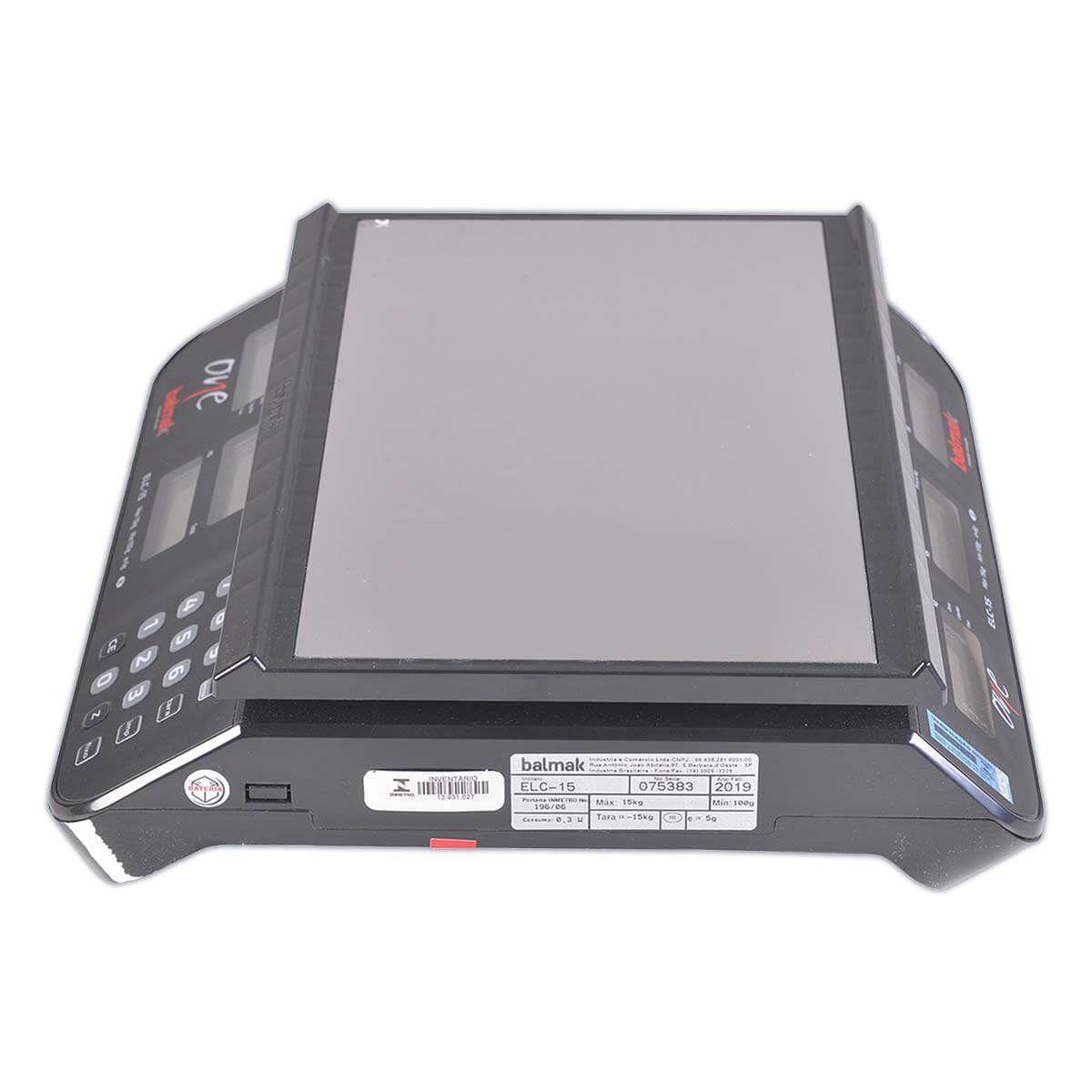 Balança Digital Computadora 15Kg ELCO15 - Balmak