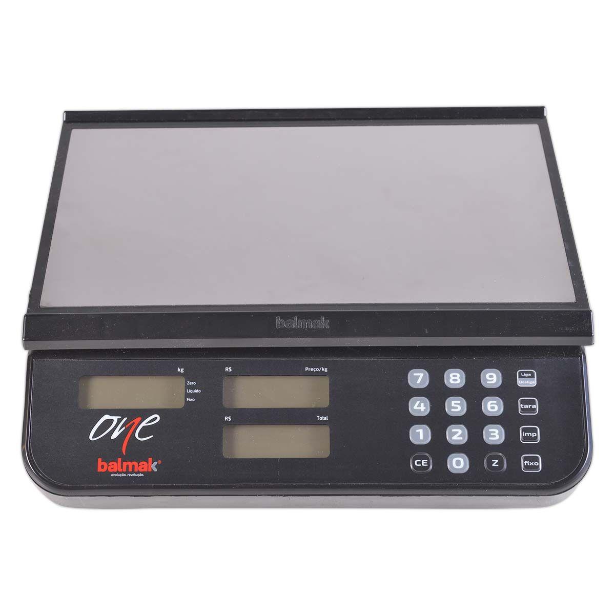 Balança Digital Computadora 30Kg Com Bateria Elco30B - Balmak