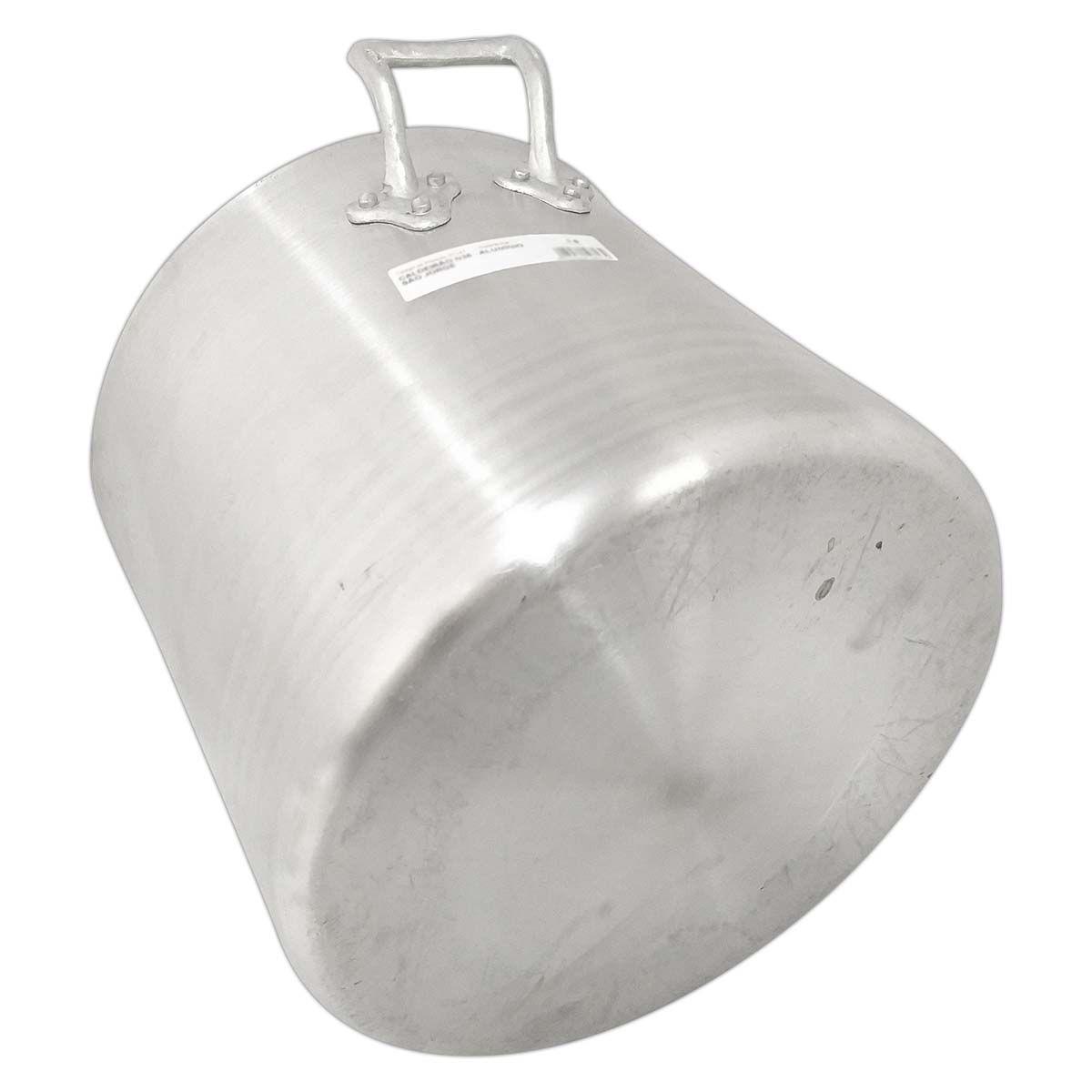 Caldeirão De Aluminio 60 Linha Hotel 115 Litros - Alumínio São Jorge