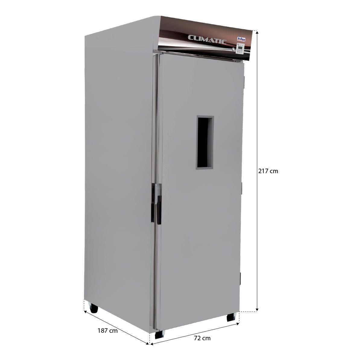Câmara Climática De Fermentação De Pães 40 Esteiras Rf 120 - Frilux - 220V