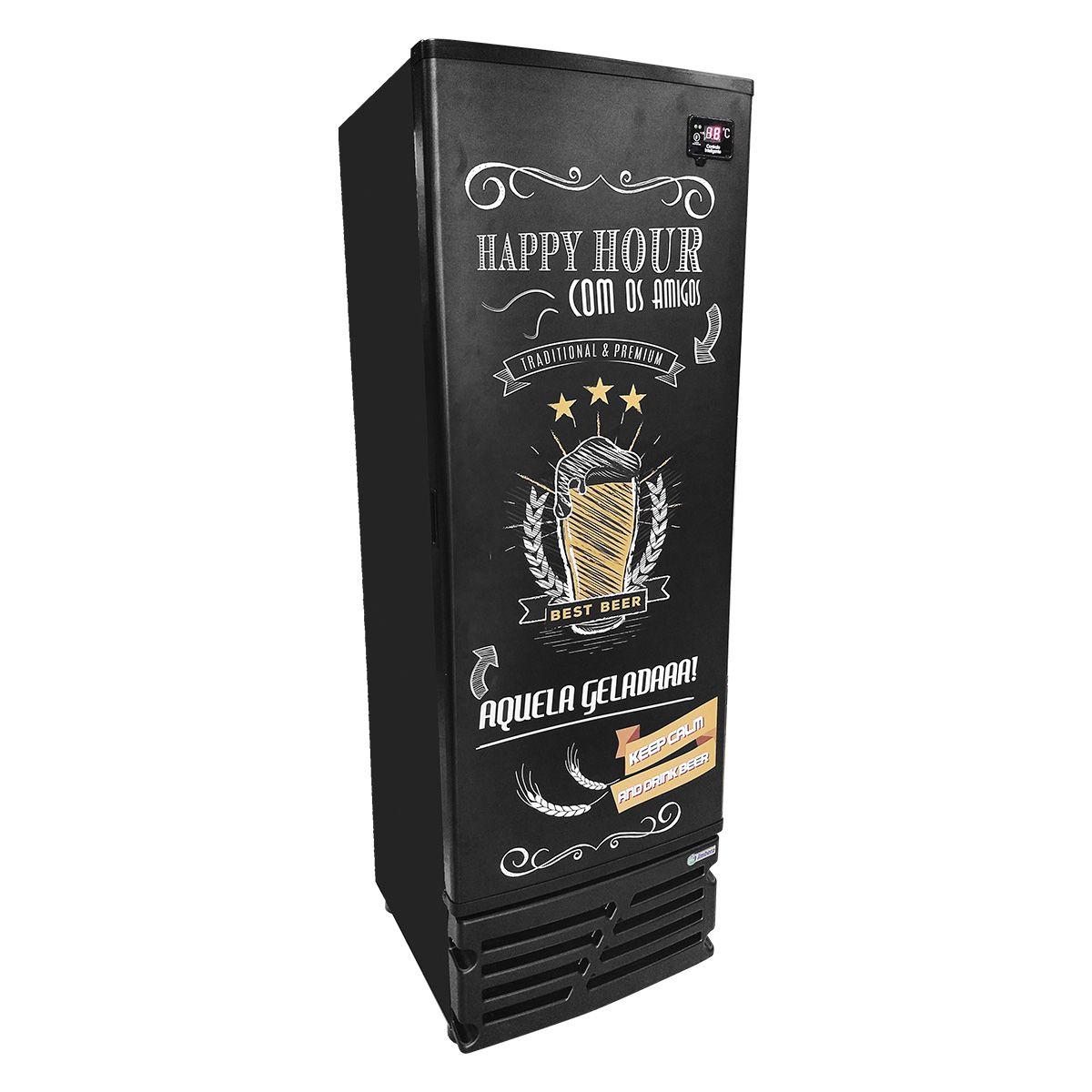 Cervejeira 542 Litros Porta Cega Happy Hour 220V CCV355 - Imbera