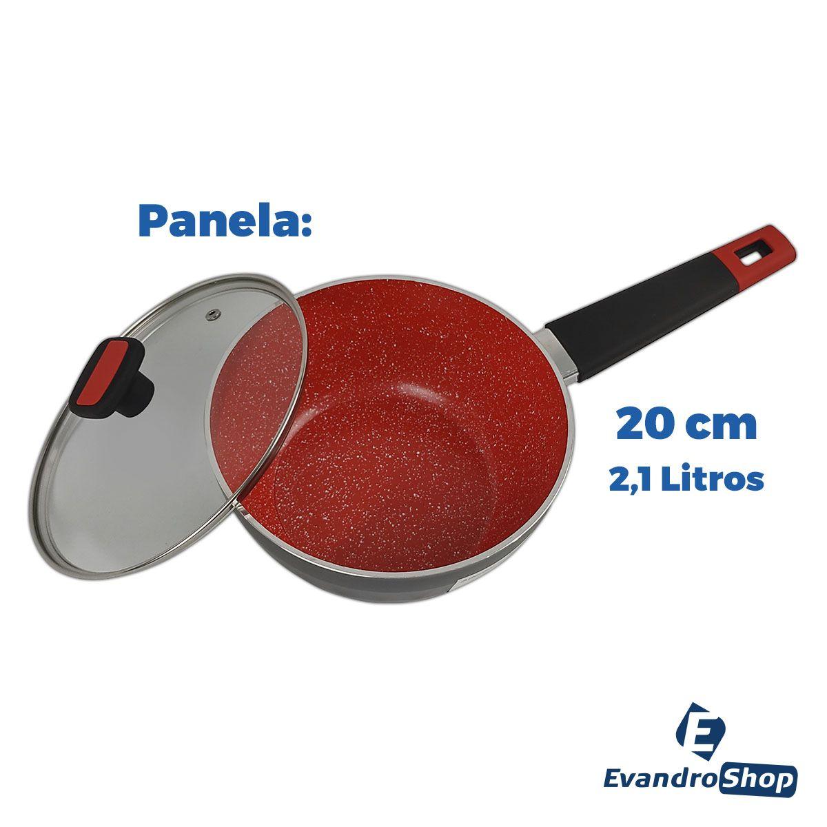 Conjunto De Panelas 3 mm 4 Peças Ceramic Class - Class Home
