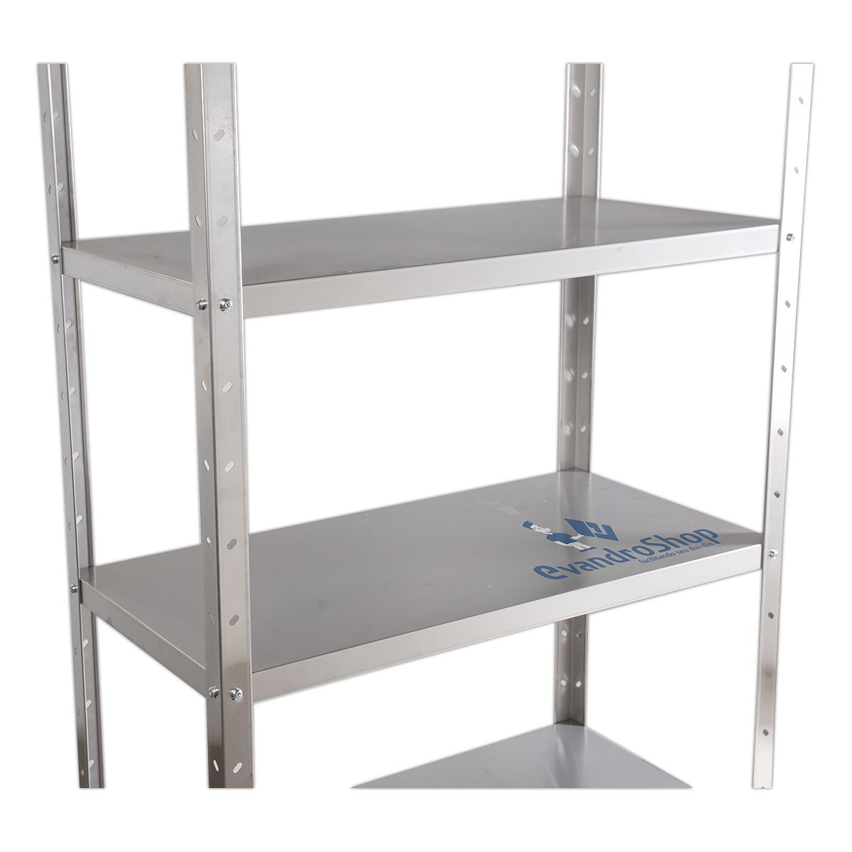 Estante Organizadora Em Inox 175X100X50 Cm - Frigopro