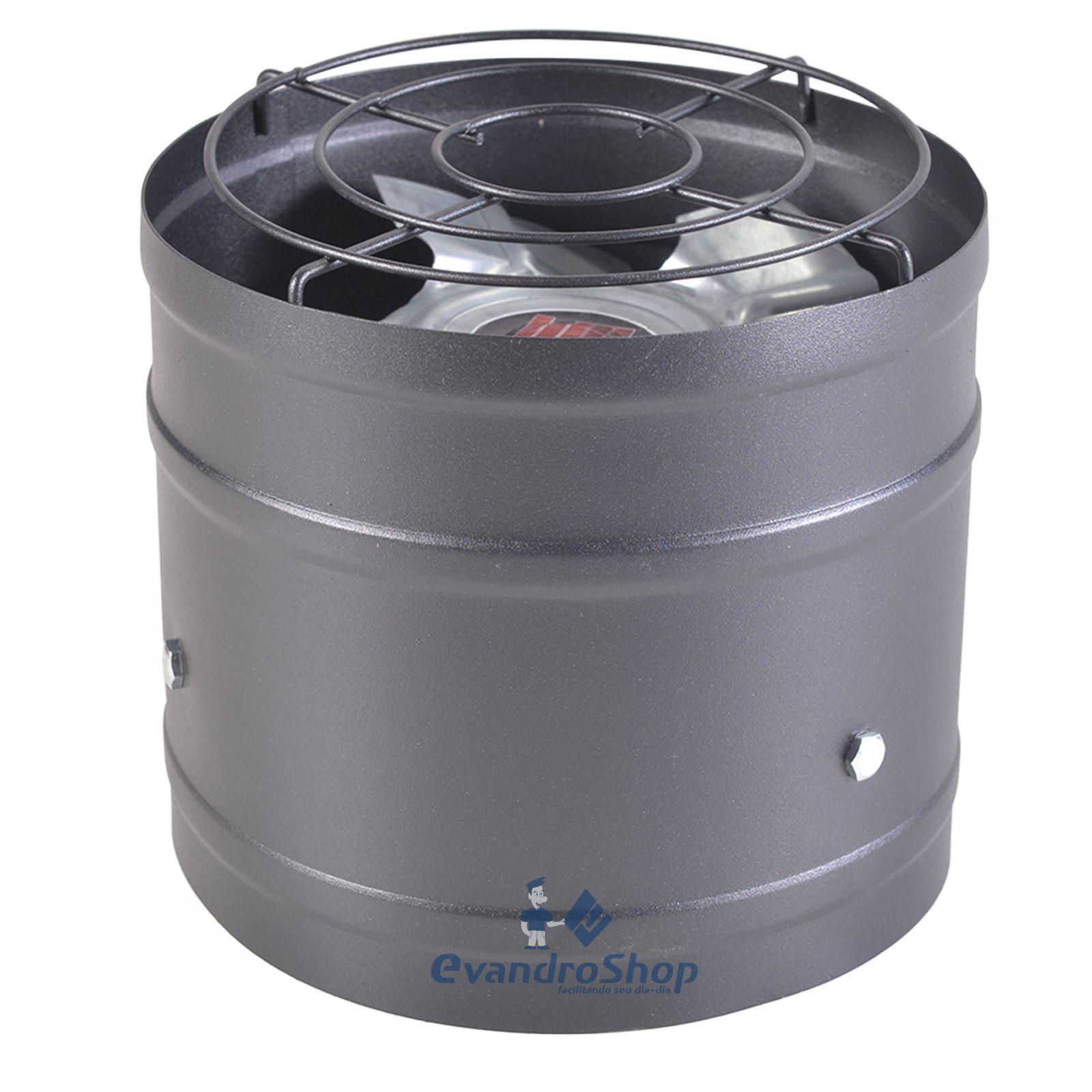 Exaustor Industrial 20Cm Exaustão/Ventilação 95W Bivolt - Mared