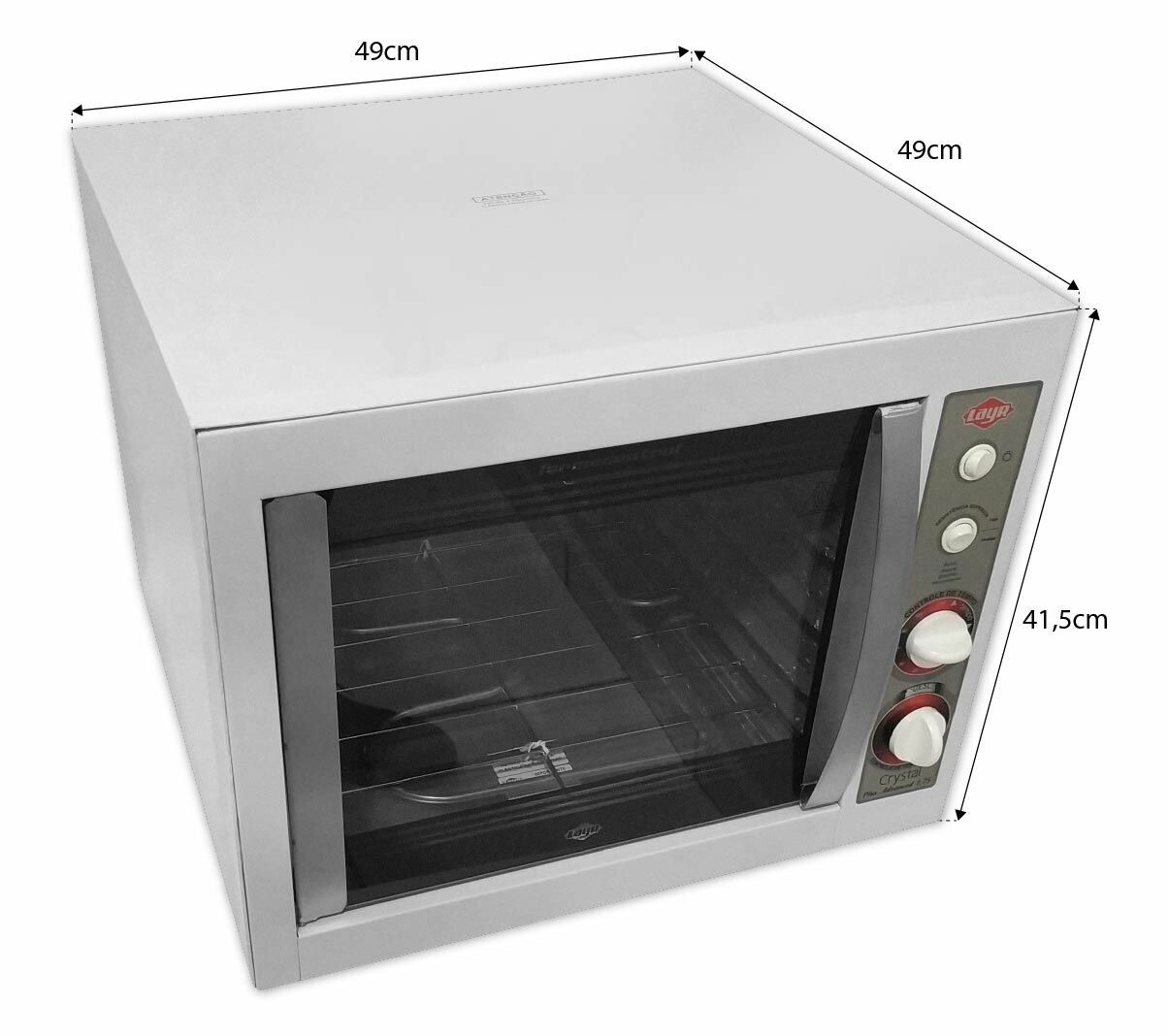 FORNO ELÉTRICO CRYSTAL PLUS ADVANCED 1750W - LAYR - 110V