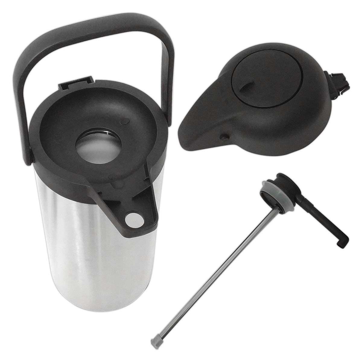 Garrafa Térmica Aço Inox E Plástico 2,2 Litros - Frigopro