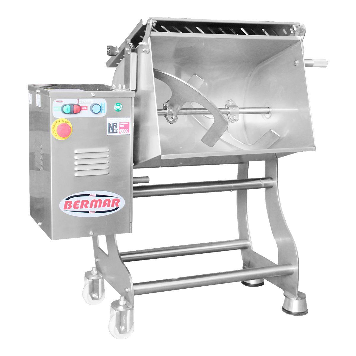 Misturadeira De Carne 100 Litros 1,5Cv Aço Inox Bm107 - Bermar - 110V
