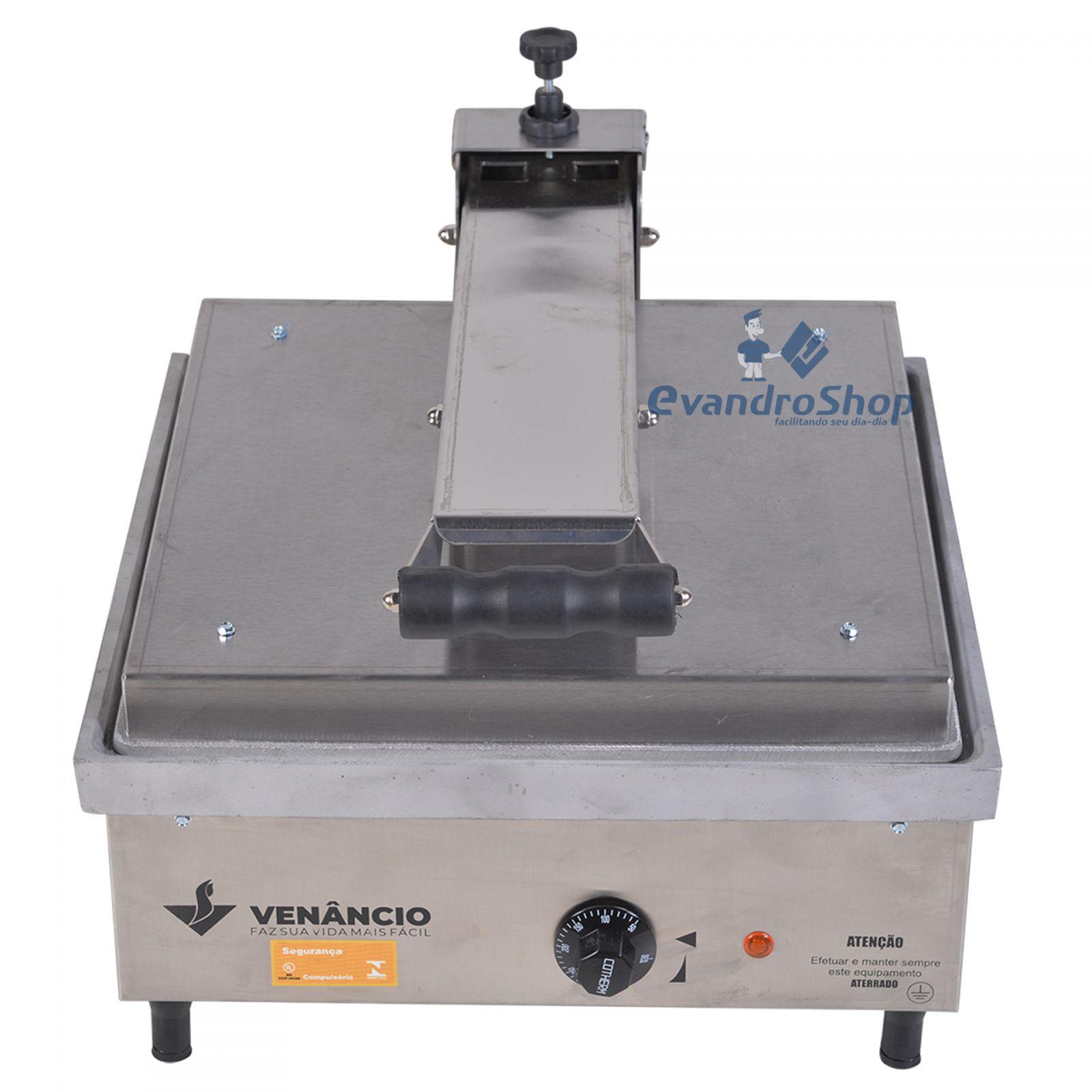 Prensa De Lanche Elétrica 45x45 Cm PE45A - Venâncio - 220V