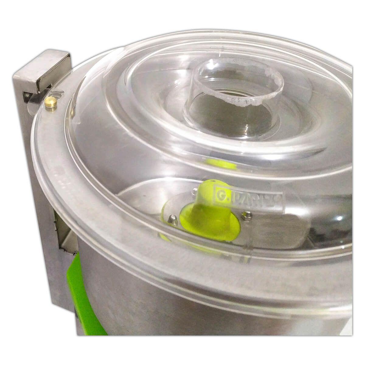 Processador De Alimentos Industrial Cutter 5 Litros 1/2Cv Inox - G-Paniz - 220V