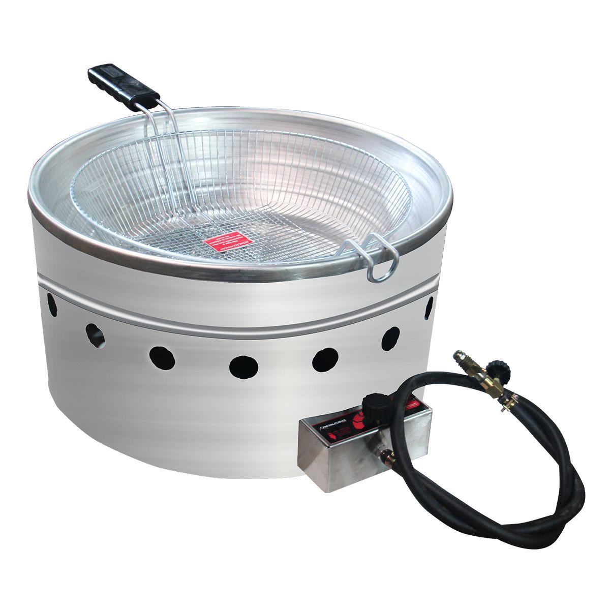 Tacho A Gás Profissional 5 Litros Alta Pressão Tfrg5 - Metalcubas