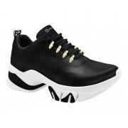 Tênis Chunky Ramarim Sneaker Tratorado Ilhós 2080103 Feminino