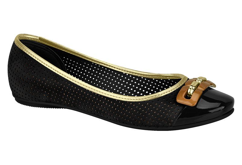 Sapato Sapatilha Beira Rio Casual Fivela 4135.266 Feminino