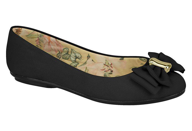 Sapato Sapatilha Moleca Casual Laço 5094.1376 Feminino