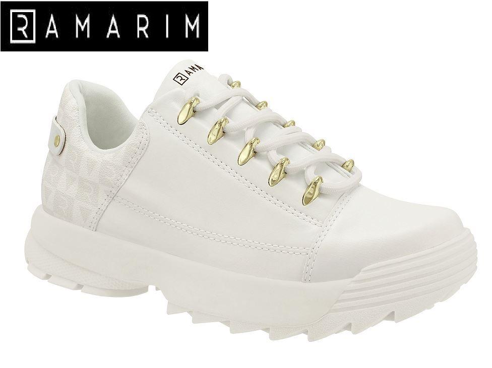 Tênis Chunky Ramarim Sneaker Tratorado 2075101 Feminino