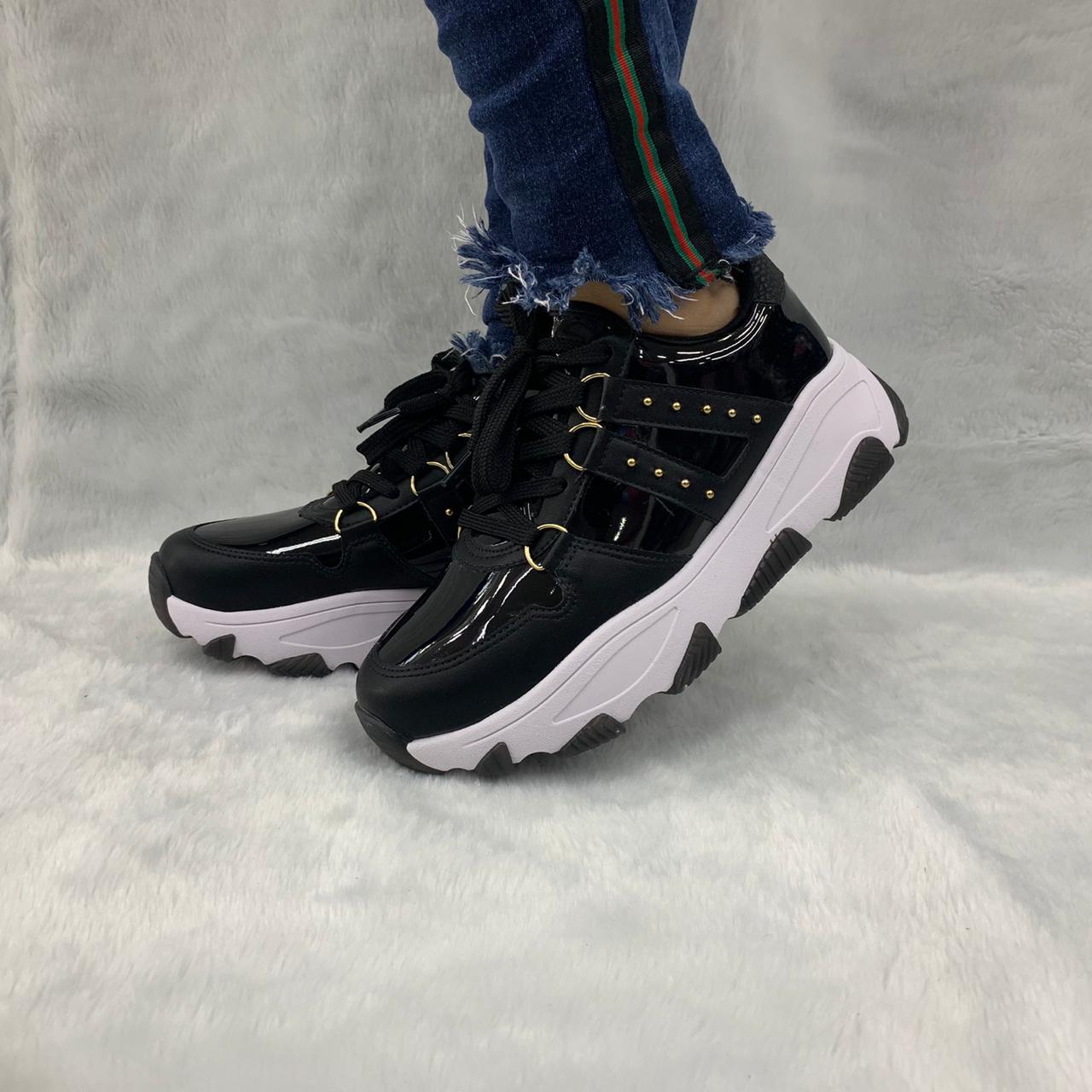 Tênis Chunky Vizzano Sneaker Tratorado 1343.101 Feminino