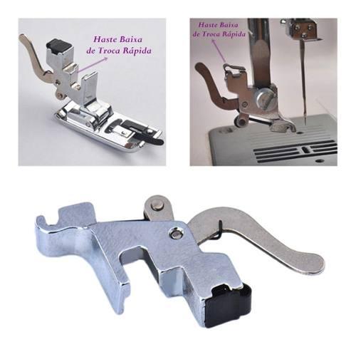 Kit 32 Calcadores + Calcador Overlock Com Faca