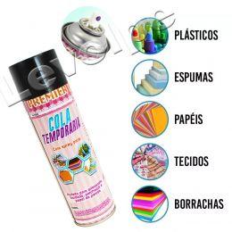 Cola Temporária Spray Adesivo Premier 500ml Patchwork