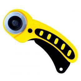 Cortador Circular 45mm Profissional Patchwork Amarelo
