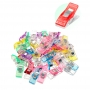 100 Wonder Clips Coloridos Para Patchwork Artesanato