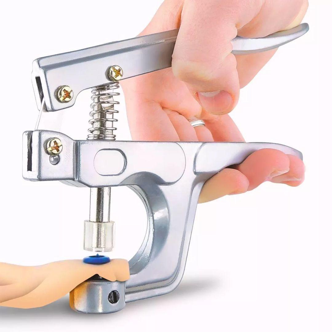 Alicate De Pressão Para Pregar Botão 10 12 15
