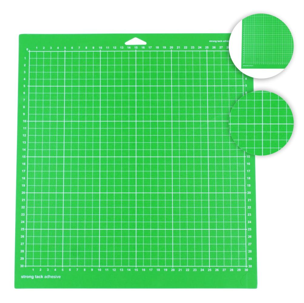 Base De Corte Auto Adesiva Para Plotter De Recorte 30x30 Verde