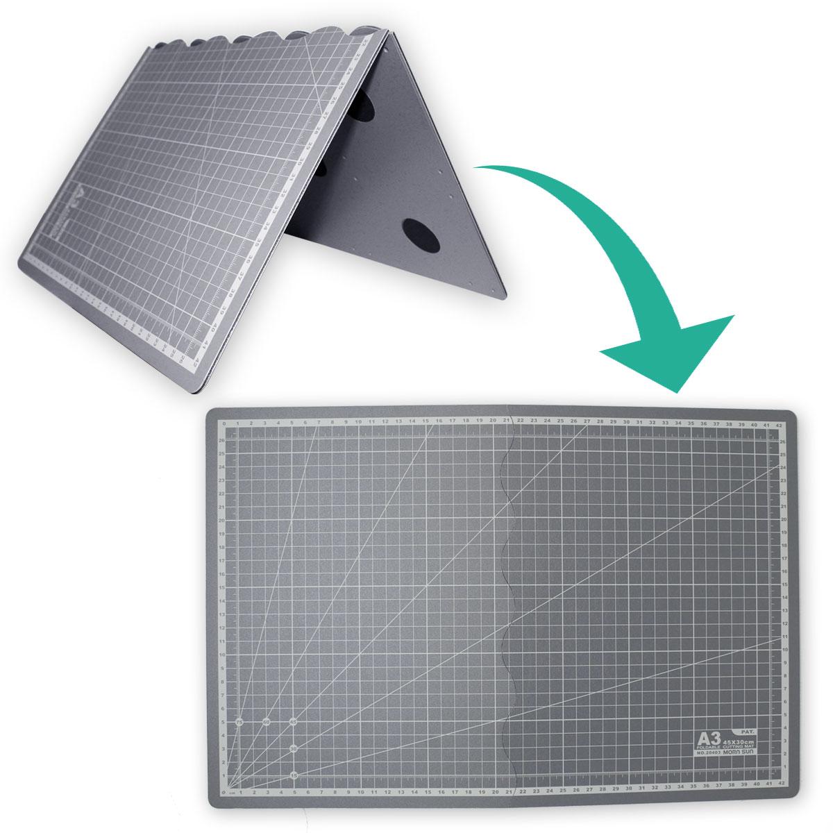 Base Placa De Corte A3 45x30 Dobrável Patchwork Scrapbook