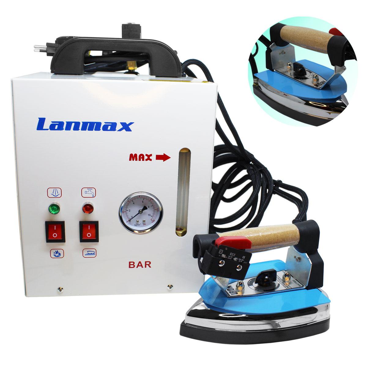Ferro De Passar Industrial Com Mini Caldeira 4 Litros 1600w