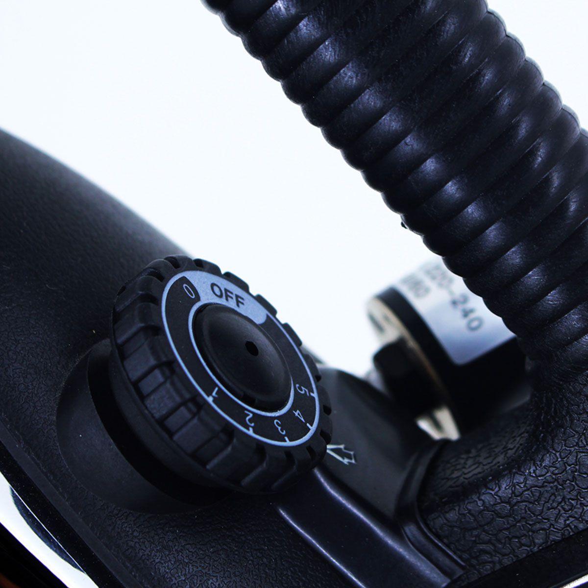 Ferro Industrial Passar Roupas A Vapor 3,5 Litros 1000 Watts + Sapata Anti-Brilho