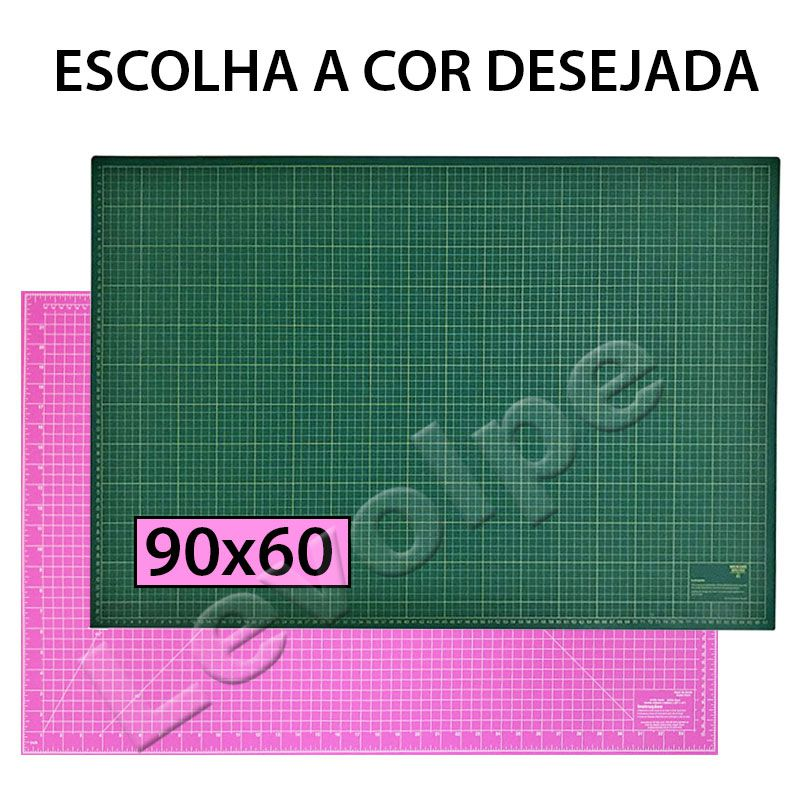 Kit Base De Corte 90x60 + Régua 15x60 + Alicate + Cortador 45mm