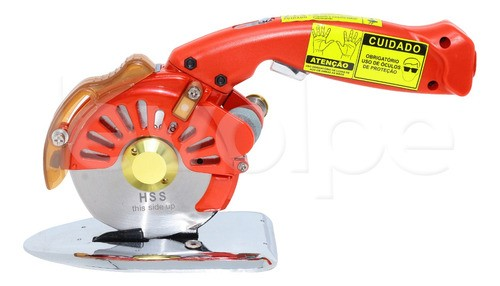 Máquina De Cortar Tecidos Direct Drive Disco Octogonal 4 Polegadas 250 wts