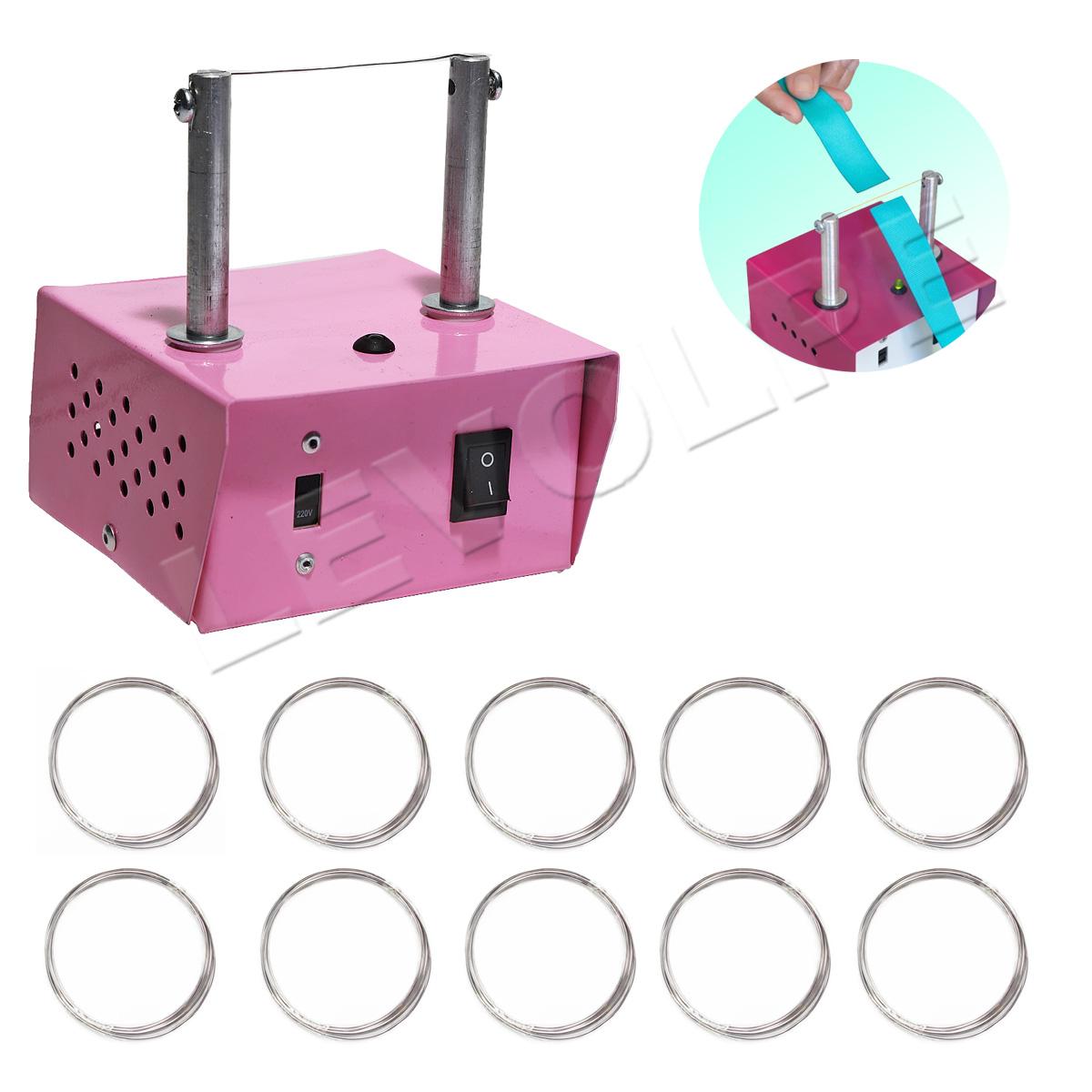 Máquina De Corte Cortar Fita Fuxico + 10 Refil Brinde