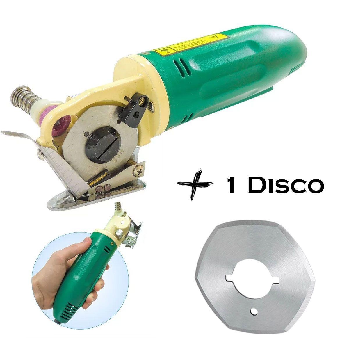 Máquina De Corte Cortar Tecido Bananinha + 1 Disco