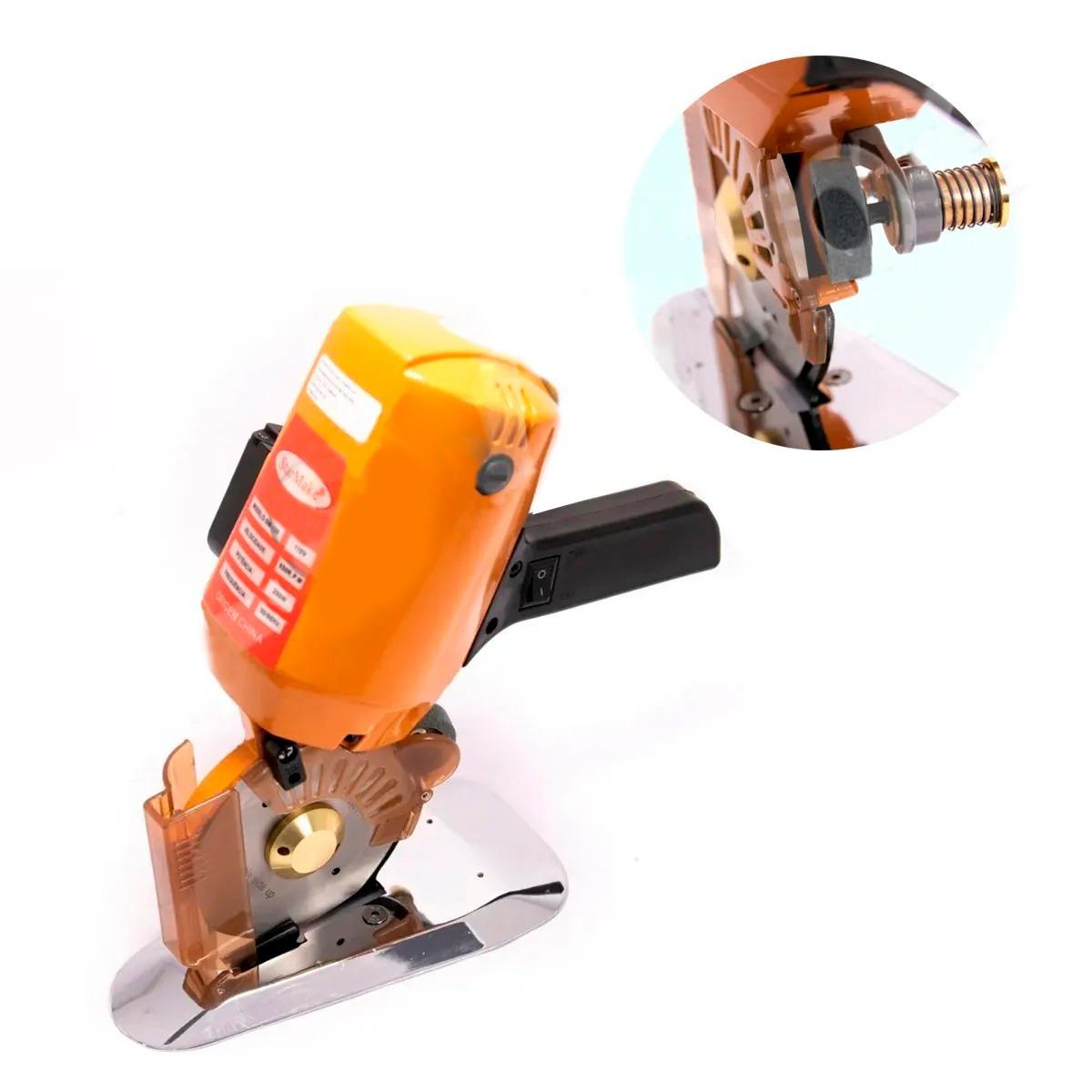 Máquina De Corte Cortar Tecido Disco Octogonal 250 Watts