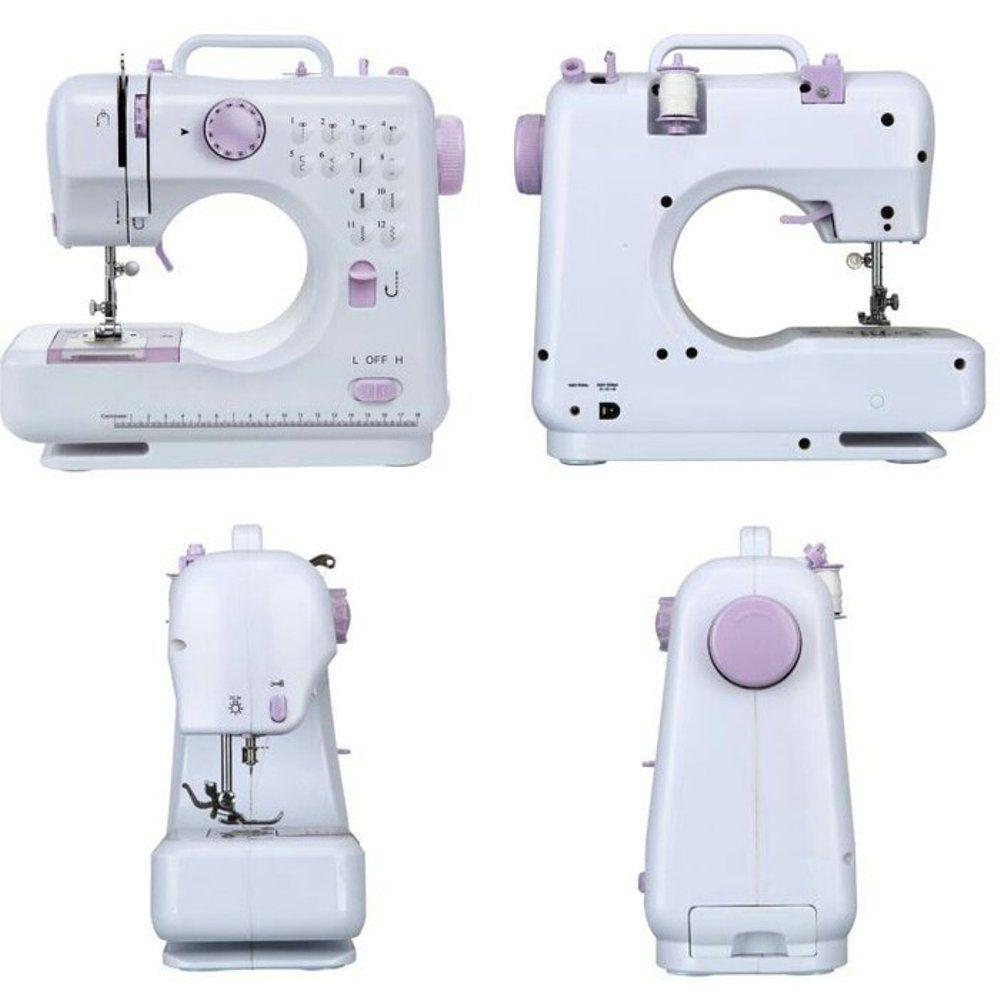 Máquina De Costura Portátil Mini 12 Pontos Bivolt