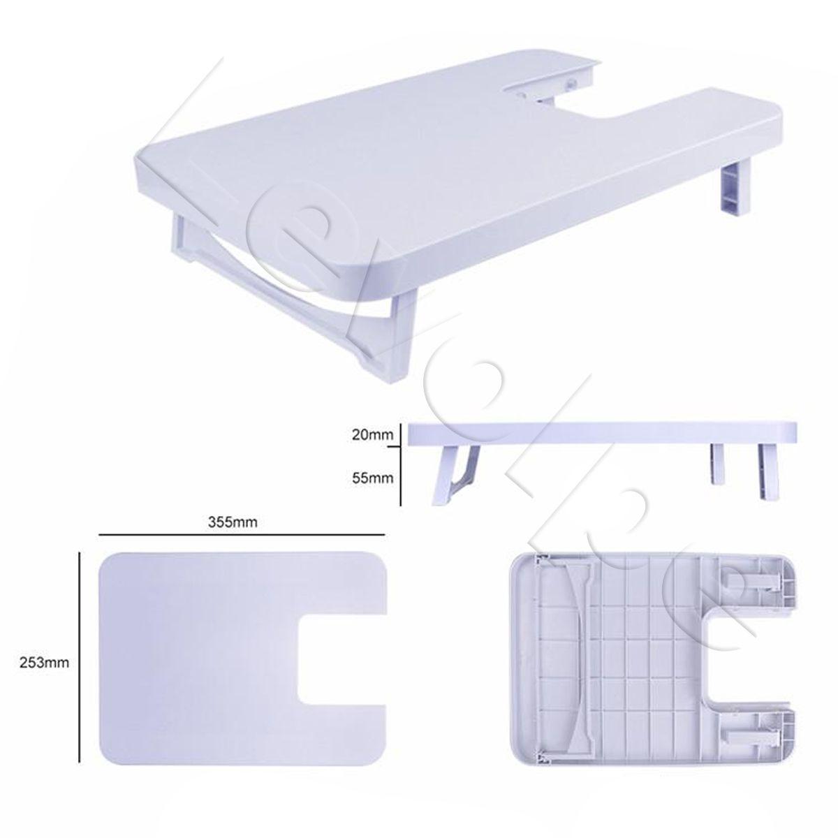 Máquina De Costura Portátil Mini 12 Pontos Bivolt + Mesa Extensora