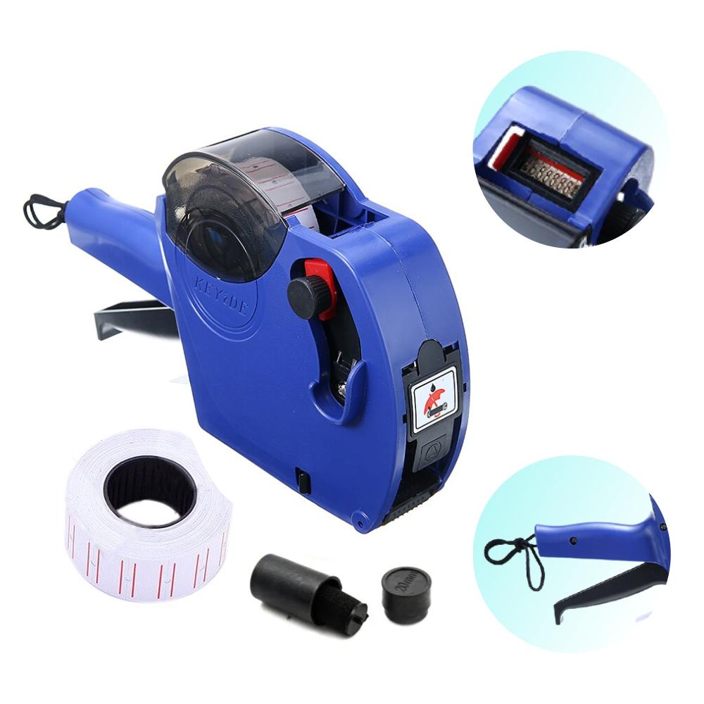 Máquina Etiquetadora De Preços + Tinteiro + Etiquetas