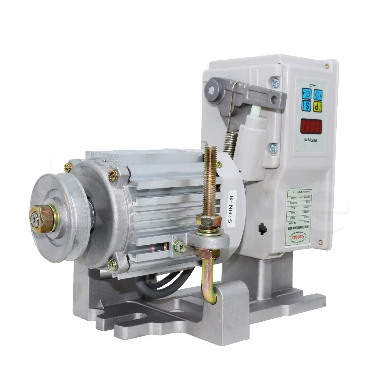 Motor Eletrônico Direct Drive Para Maquina Reta Industrial 750w