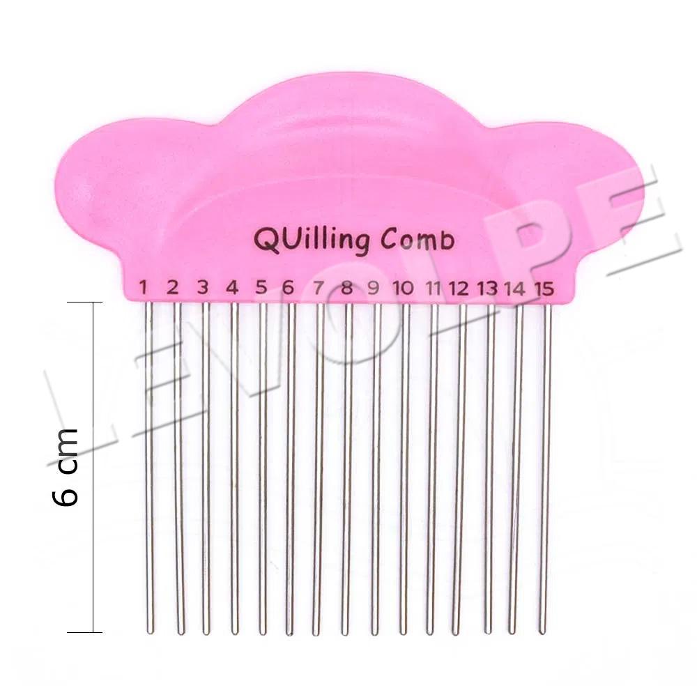 Pente Para Quilling Comb Papel Artesanato Ferramenta Tecer
