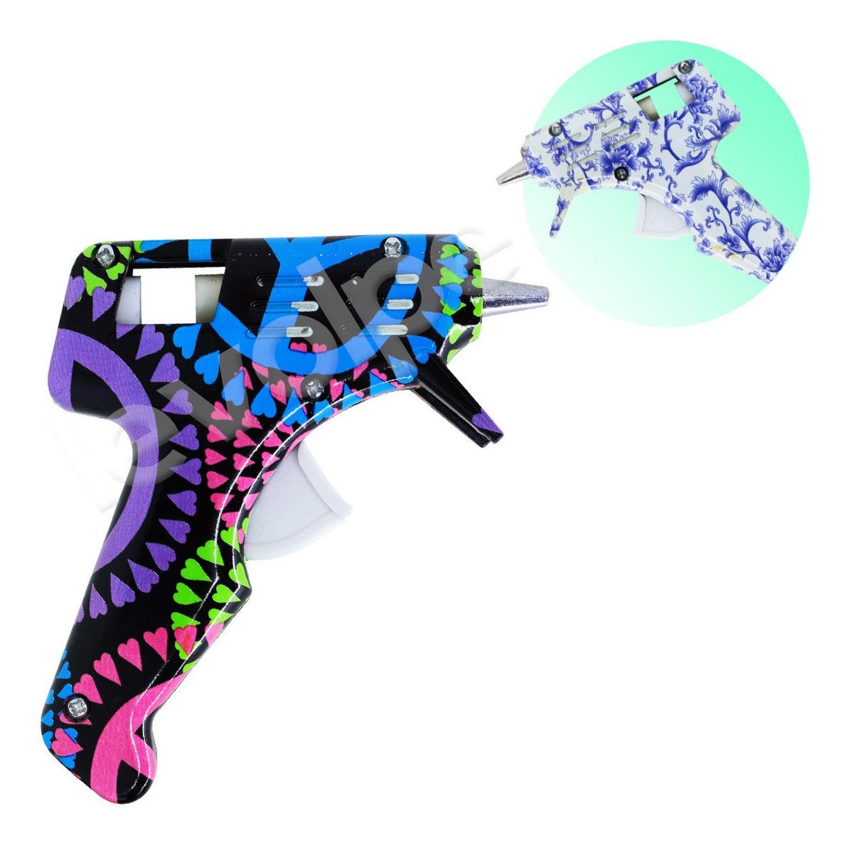 Pistola Aplicadora De Cola Quente Estampada 10w