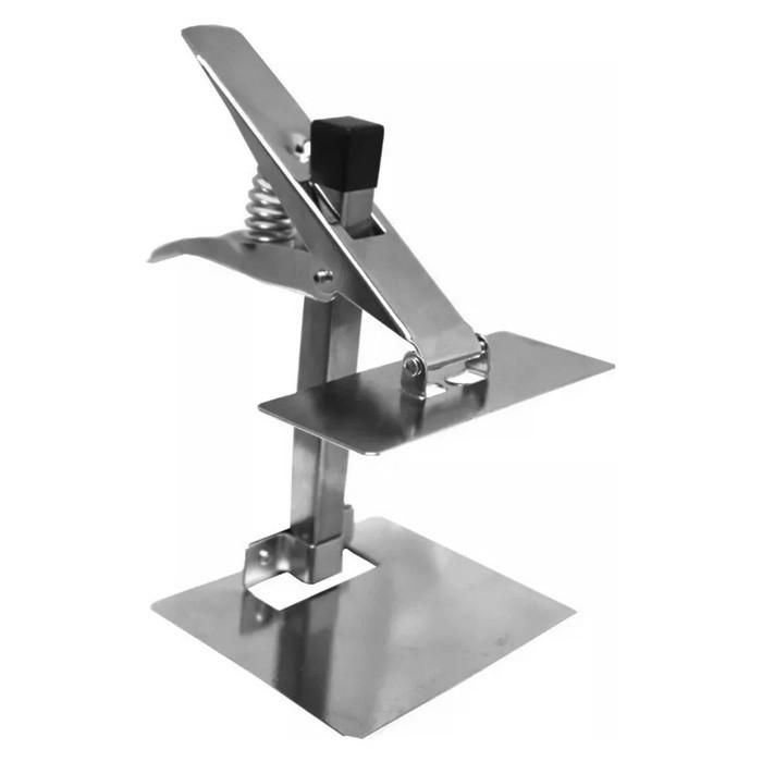 Prendedor De Tecido Para Enfesto Molde Modelagem Metal