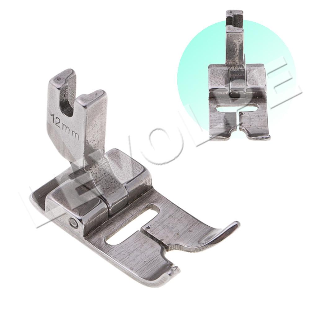 Sapata Calcador Zig Zag 12mm Maquina Reta Industrial 20u