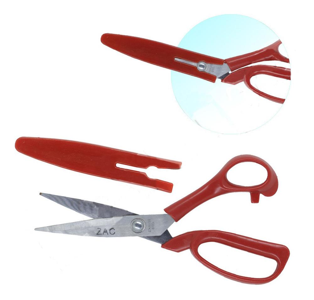 Tesoura Zac Para Costura E Uso Geral Com Protetor 20cm