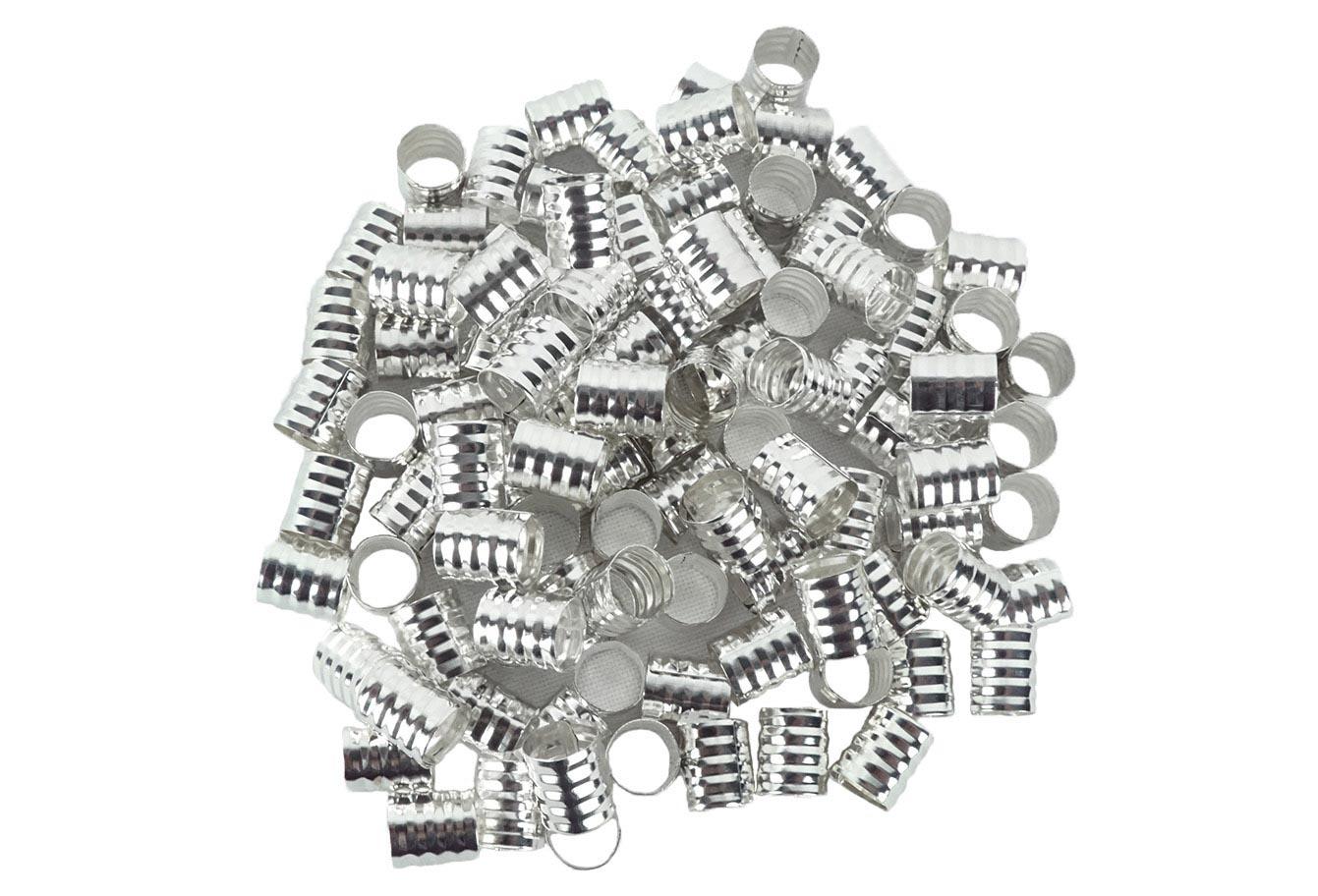 Anéis para Tranças Pacote com 100 un - Pequeno