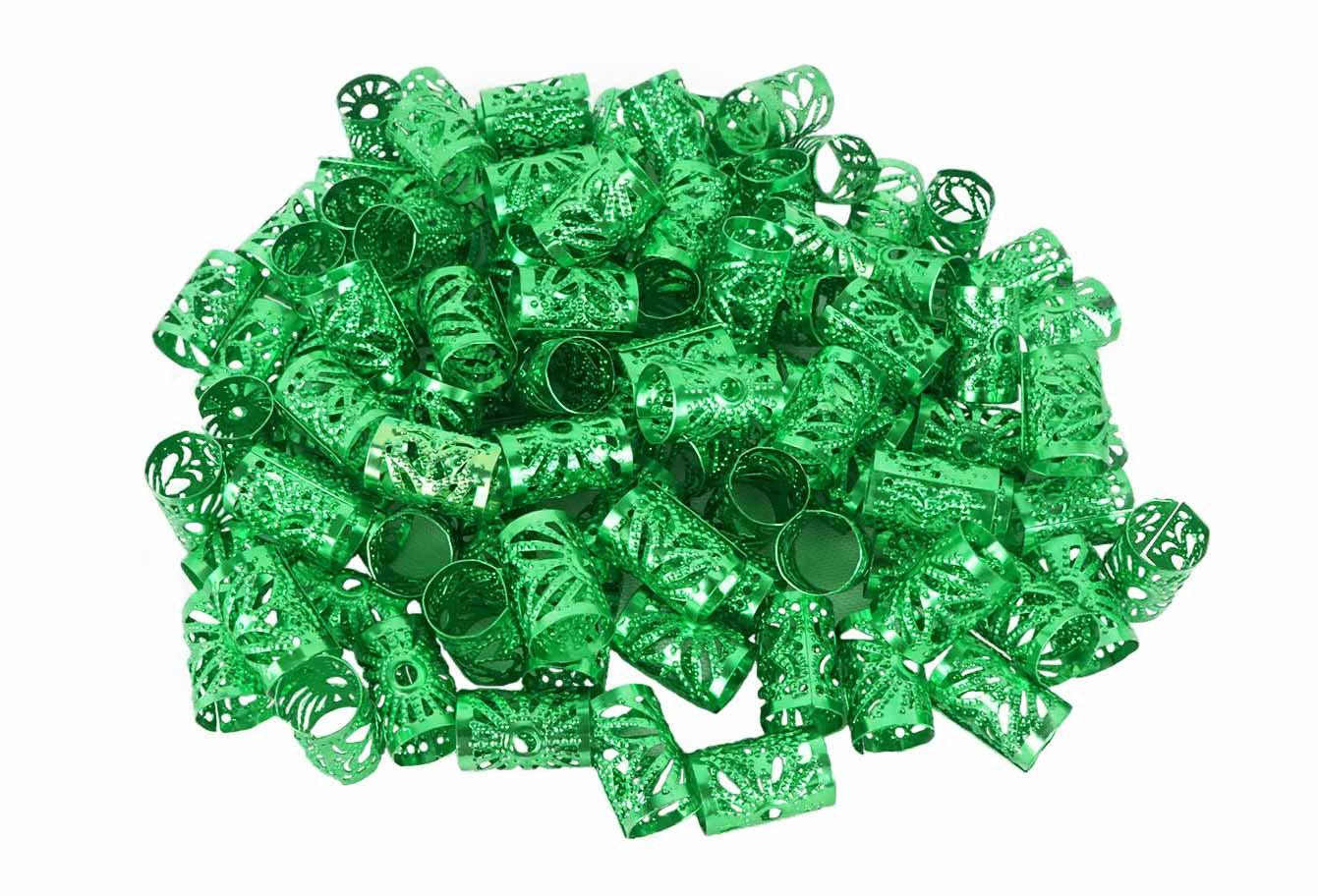 Anéis para Tranças Pacote com 100 un - Sol