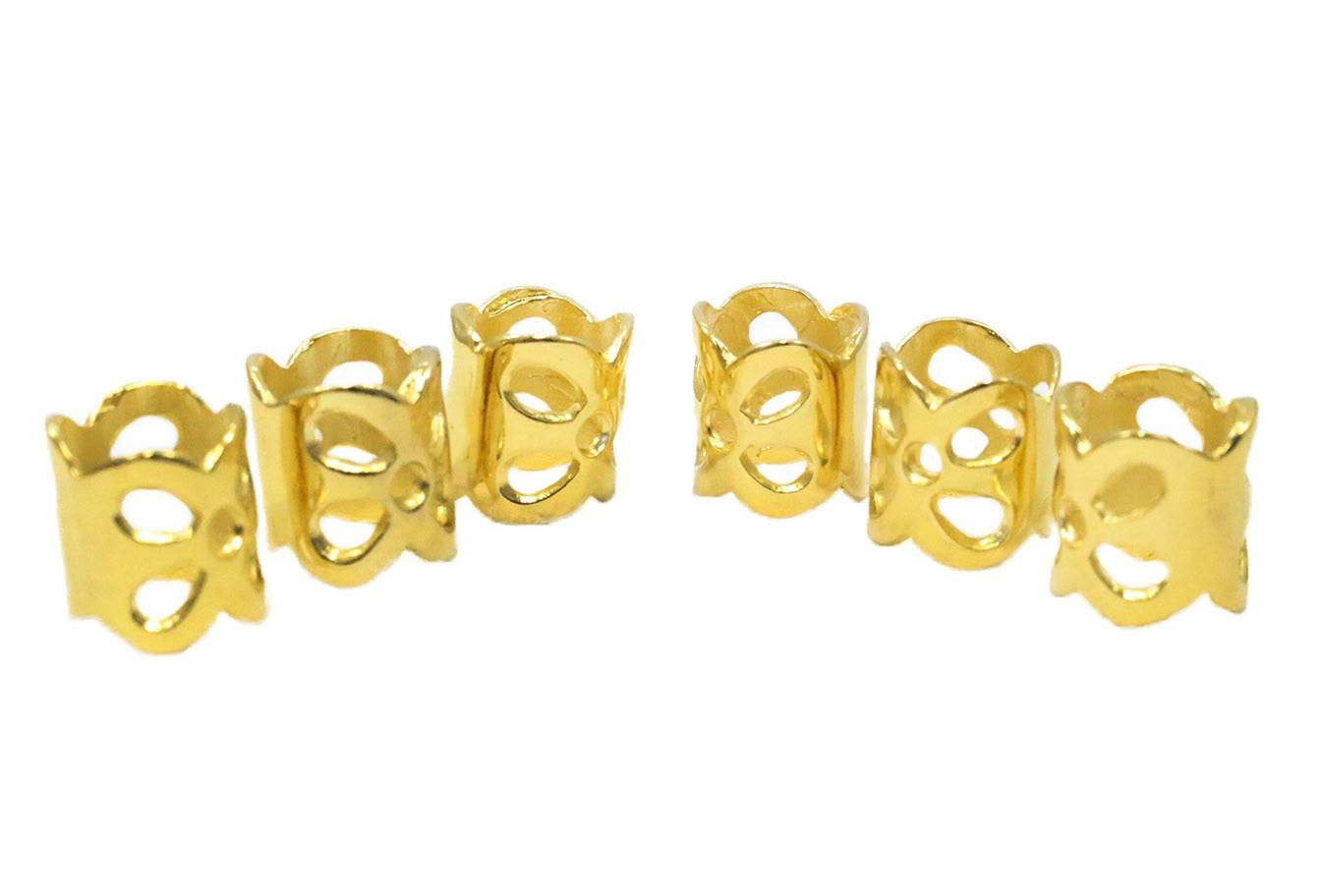 Anel Para Tranças - 4044 - Dourado