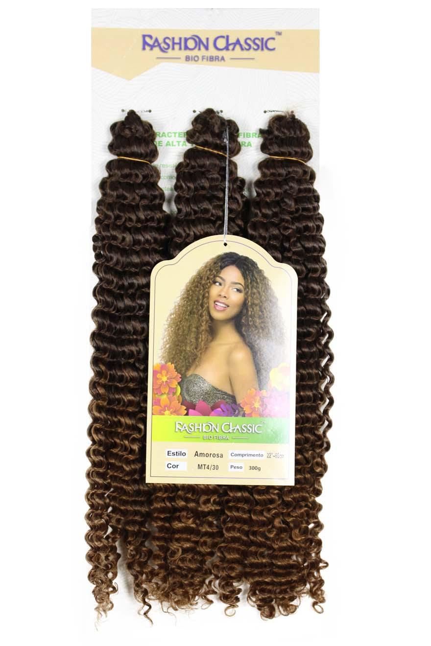 Cabelo Bio Vegetal - Fashion Classic Crochet Braid - Amorosa