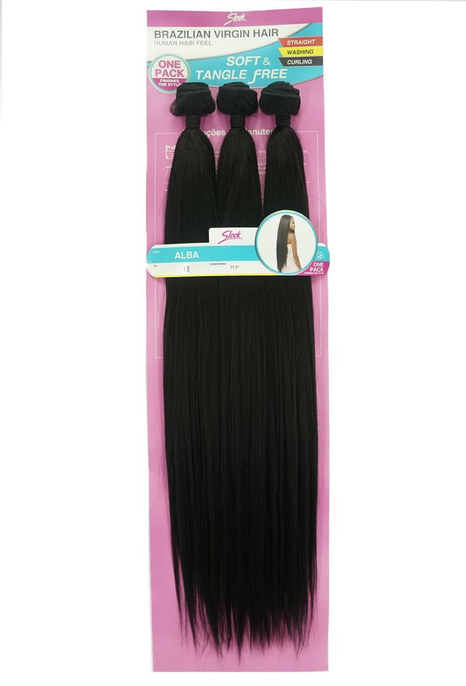 Cabelo Bio Vegetal - Sleek Brazilian Virgin Hair - Alba