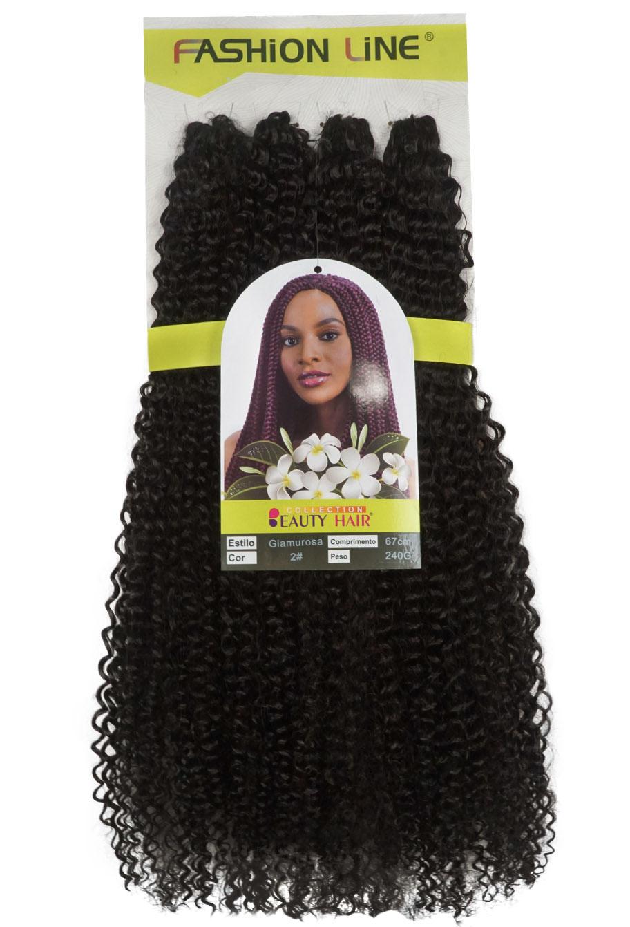 Cabelo Orgânico - Fashion Line Crochet Braid - Glamurosa