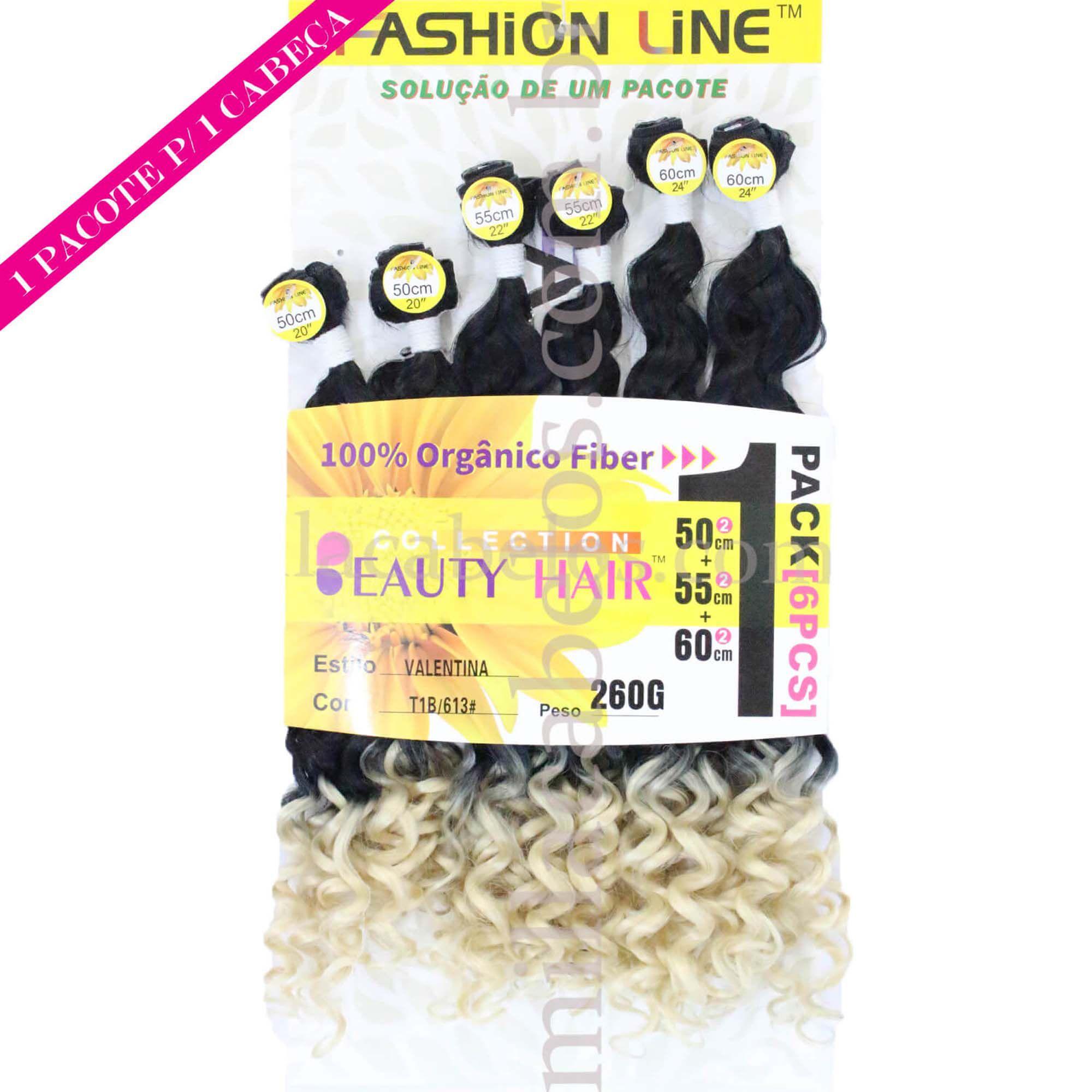 Cabelo Orgânico - Fashion Line - Valentina