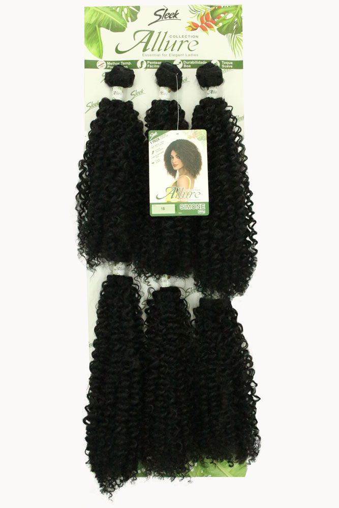 Cabelo Orgânico - Sleek Allure - Simone